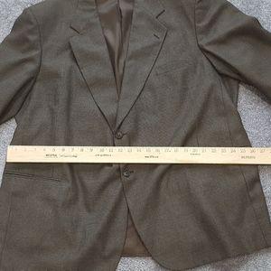 Alexander Lloyd size 54R dark brown men blazer